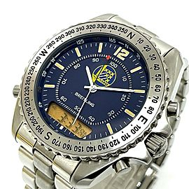BREITLING A51038 Stainless Steel Acrobat Team Pluton Team 60 Quartz Wrist watch RSH-864