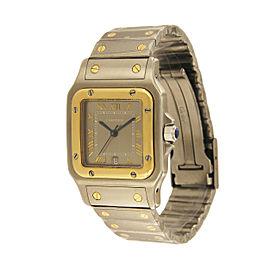 Cartier Santos Galbee 1566 29mm Mens Watch