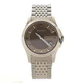 Gucci G-Timeless Quartz Watch Stainless Steel 27