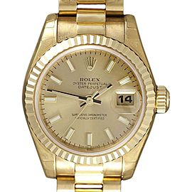 Rolex President Datejust 179178 26mm Womens Watch