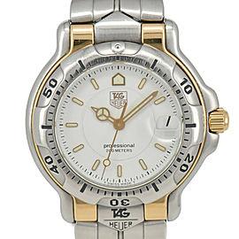 TAG HEUER 6000 series WH1215-K0 White Dial Quartz Boy's Watch
