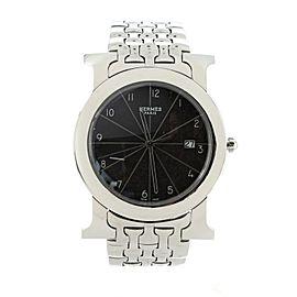 Hermes Heure H Ronde Quartz Watch Stainless Steel 40
