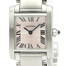 CARTIER Tank Francaise SM Christmas LTD Edition Watch