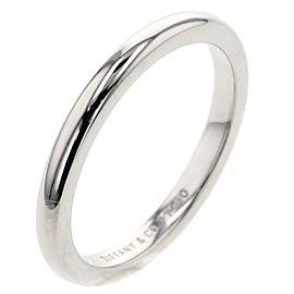 TIFFANY & Co. platinum Classic band Ring