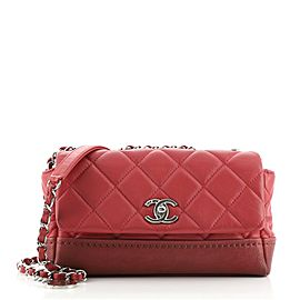 Chanel Bi Coco Flap Bag Quilted Lambskin with Caviar Small