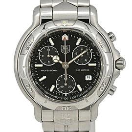 TAG HEUER 6000 series CH1113 Chronograph black Dial Quartz Men's Watch