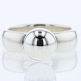 TIFFANY & Co 925 silver Ball dangle Ring