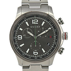 GUCCI G-Timeless Chronograph 126.2 Brown Dial Quartz Men's Watch