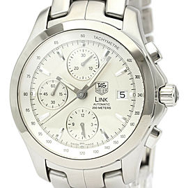 TAG HEUER Link Stainless steel Chronograph Automatic Watch
