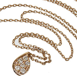 Star Jewelry 10K Rose Gold /0.06ct Diamonds Pendant Necklace