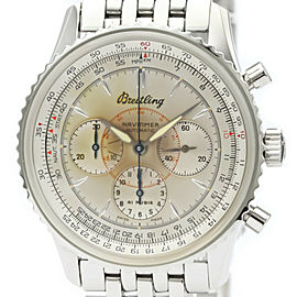 Polished BREITLING Navitimer Montbrillant Automatic Mens Watch A30030.2