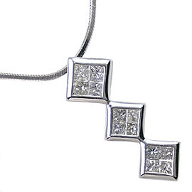 Platinum/diamond Necklace