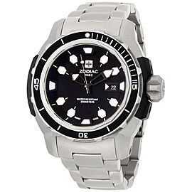 Zodiac ZO8604 Stainless Steel Quartz 47mm Mens Watch