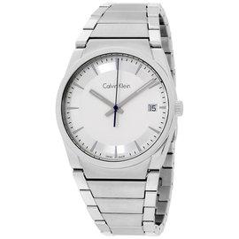 Calvin Klein CK Step K6K31146 Stainless Steel Silver Dial 38mm Unisex Watch