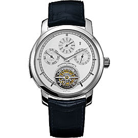 Vacheron Constantin Traditionnelle Calibre 80172/000P-9589 Platinum with Opaline Dial 44mm Mens Watch