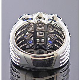 Gold Diamond Sapphire Ring