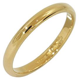 Bvlgari Bulgari Fedi Wedding Band Mens Ring 18K Yellow Gold US8.25 EU56.5