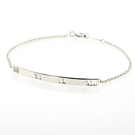 TIFFANY & Co. silver Atlas bar bracelet