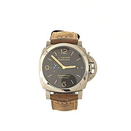 Panerai Luminor Marina 1950 3 Days Automatic Watch Titanium and Leather 44
