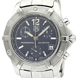 Polished TAG HEUER 2000 Exclusive Chronograph Quartz Mens Watch CN1112
