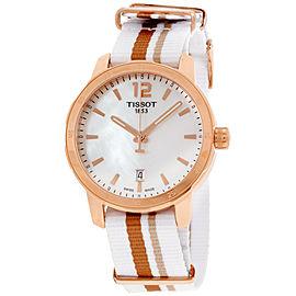 Tissot Quickster T0954103711700 Rose Gold Tone Stainless Steel & Nylon Quartz 40mm Unisex Watch