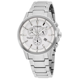Citizen AT234056A Stainless Steel with Silver Dial 41mm Mens Watch