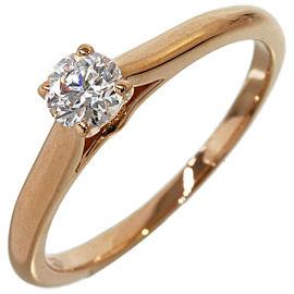 CARTIER 0.21ct Diamond Ring in 18K Rose Gold US4.25 w/Box,Cert