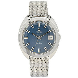 OMEGA Geneve Blue Dial Date Cal.565 Automatic Men's Watch