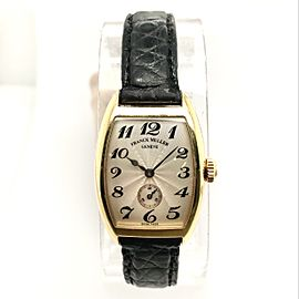 FRANCK MULLER CURVEX 18K Yellow Gold Ladies Watch