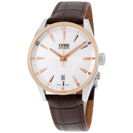 Oris Artix Date 733.7713.6331.LS Stainless Steel & Leather Automatic 39mm Mens Watch