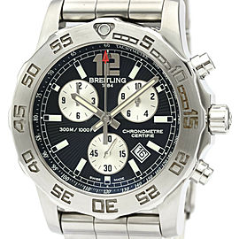 Polished BREITLING Colt Chronograph ll Steel Quartz Mens Watch A73387