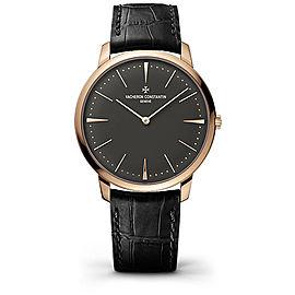 Vacheron Constantin Patrimony 81180000R-9162 18K Rose Gold with Grey Dial Manual 40 mm Mens Watch
