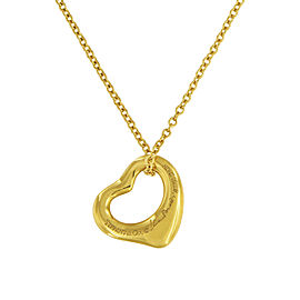 Tiffany & Co. Elsa Peretti 18K Yellow Gold Pendant Necklace