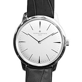 Vacheron Constantin Patrimony 81530000G-9681 18K White Gold with Diamond 36mm Mens Watch