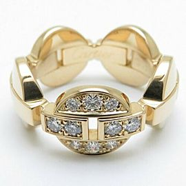 CARTIER 18K Yellow Gold Diamond Imalia Ring CHAT-1198