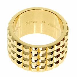 Boucheron 18K Yellow Gold Cattle ring