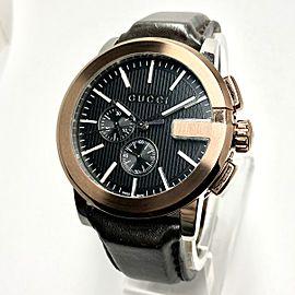 GUCCI G Chronograph 43mm Steel Mens/Unisex Watch