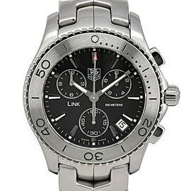 TAG HEUER Link CJ1110.BA0576 Chronograph Black Dial Quartz Men's Watch