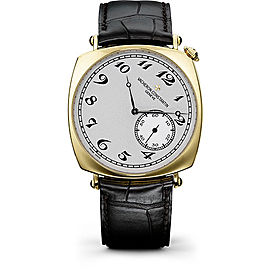 Vacheron Constantin Historiques 82035/000J-9964 18K Yellow Gold with Silver Dial 40mm Mens Watch