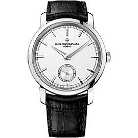 Vacheron Constantin Traditionnelle 82172000G-9383 18K White Gold with Silver Dial 38mm Mens Watch