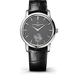 Vacheron Constantin Traditionnelle 82172/000P-9811 Platinum with Grey Dial 38mm Mens Watch