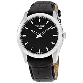 Tissot Couturier T0354461605100 Stainless Steel & Leather Quartz 39mm Mens Watch