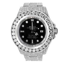 Stainless Steel Diamond Rolex Sea-Dweller