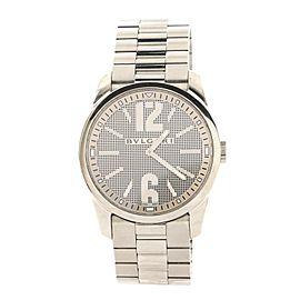 Bvlgari Solotempo Quartz Watch Stainless Steel 42