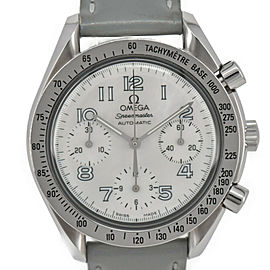 OMEGA Speedmaster 3802.70.56 White shell Dial Automatic Ladies Watch
