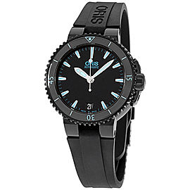 Oris Aquis 73376524725RS Stainless Steel & Silicone Automatic 36mm Mens Watch