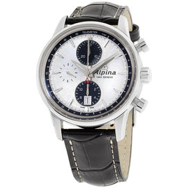 Alpina Alpiner AL750SG4E6 Stainless Steel & Leather Automatic 42mm Mens Watch