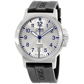 Oris BC3 73576414161RS Stainless Steel & Silicone Automatic 42mm Mens Watch