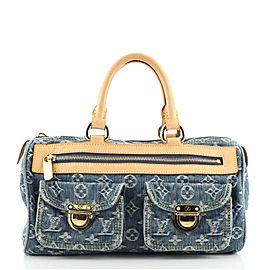 Louis Vuitton Neo Speedy Bag Denim
