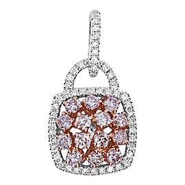 1.3 Carat Natural Pink Diamond Pendant